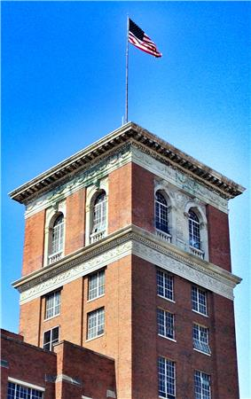 Ponce City Market tower, May 2012
