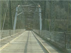 Pond Eddy Bridge