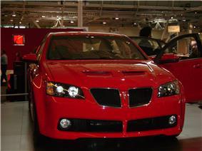 Pontiac G8 - New England Auto Show - 2008.jpg