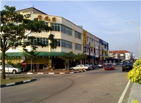 Location of Pontian笨珍