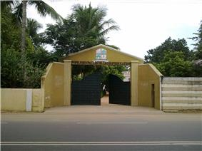 Entrance of the college