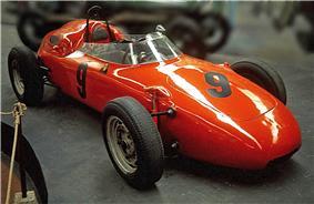 A bright orange 718 as driven by Carel Godin de Beaufort in F1 races
