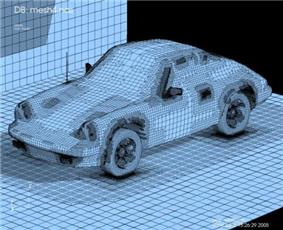 Porsche 911 model imported from a NASTRAN bulk data file.jpg