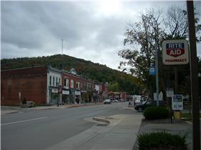 Downtown Port Allegany