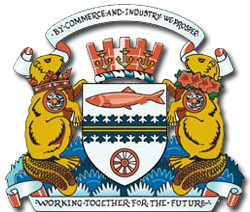 Coat of arms of Port Coquitlam