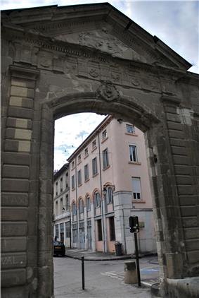 gate of the former prefecture