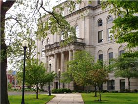 Porter County Courthouse in Valparaiso, Indiana