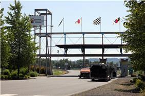 Entrance to Portland International Raceway