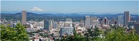 Portland's skyline.