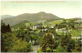 Mill Valley 1910 postcard
