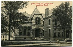 Slater Library and Fanning Annex