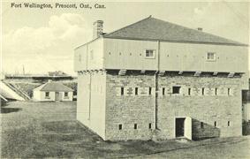 Postcard of Fort Wellington, ca. 1930