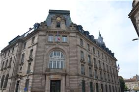 Prefecture building of the Haute-Vienne department, in Limoges