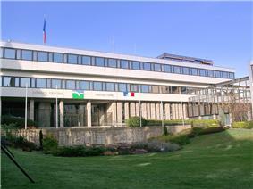Prefecture building of the Côtes-d'Armor department, in Saint-Brieuc
