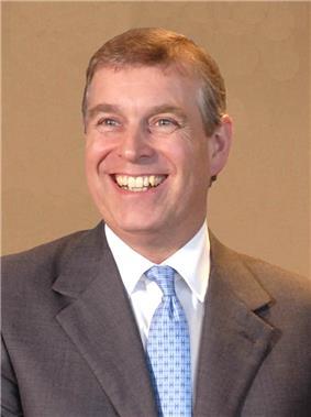 Prince Andrew, current incumbent