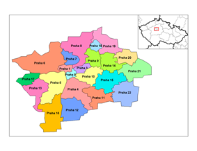 Administrative districts of Prague