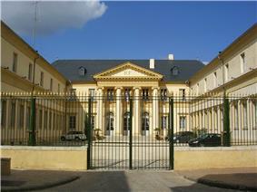 Prefecture building of the Landes department, in Mont-de-Marsan