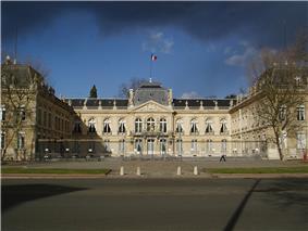 Prefecture building of the Yvelines department, in Versailles