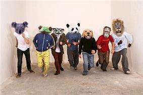 Seven different animals