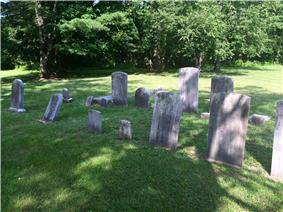 The Princessville Cemetery, with graves dating from 1843-1921
