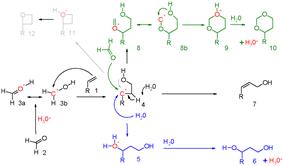 Scheme 5. Prins reaction mechanism
