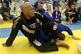 Professor Ailson 'Jucao' Brites Demonstrating an Omoplata Variation
