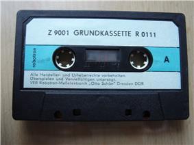 A computer cassette
