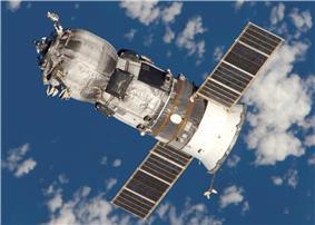 Progress cargo spacecraft