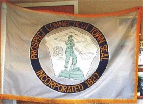 Flag of Prospect, Connecticut