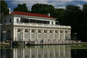 Boathouse on the Lullwater of the Lake in Prospect Park