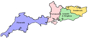 The Diocese of Arundel and Brighton within the Province of Southwark.
