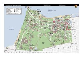A map of the Presidio