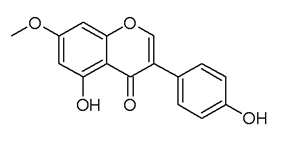 Chemical structure of prunetin