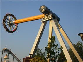 Psyclone, a pendulum ride