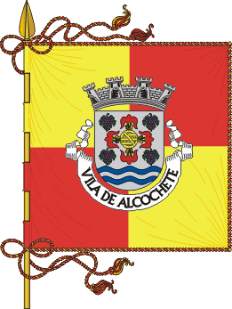Flag of Alcochete