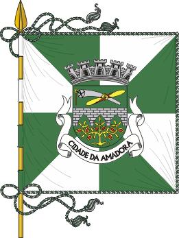 Flag of Amadora