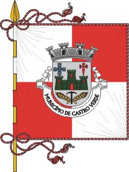 Flag of Castro Verde