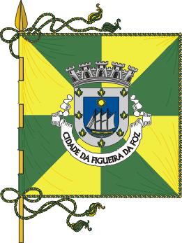 Flag of Figueira da Foz