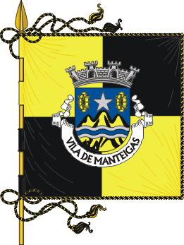 Flag of Manteigas