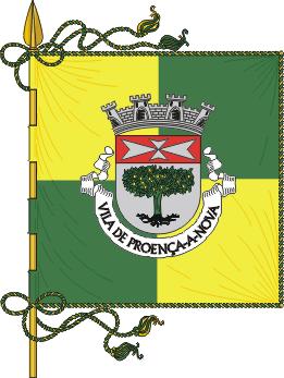 Flag of Proença-a-Nova