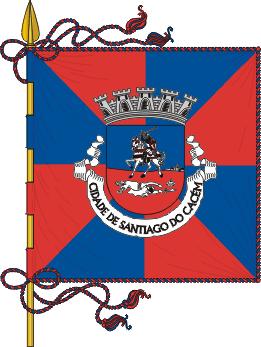 Flag of Santiago do Cacém