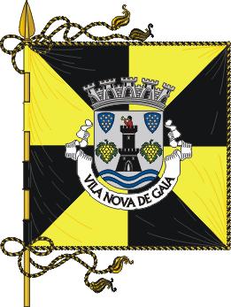 Flag of Vila Nova de Gaia