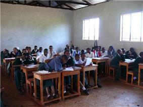 Secondary School Classroom