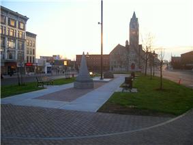 Watertown public square