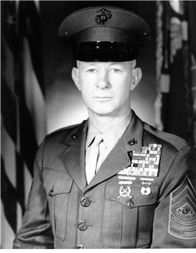 black & white photograph of Clinton A. Puckett