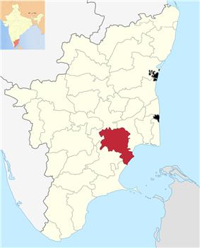 Location in Tamil Nadu, India