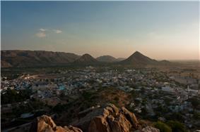 Pushkar from above