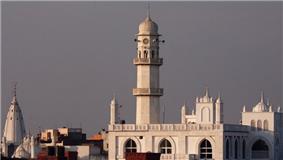 Minaratul Masih is one of the major landmarks of Qadian