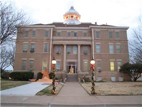Hardeman County Courthouse in 2006
