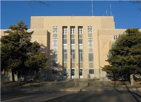 Quay County Courthouse in 2008